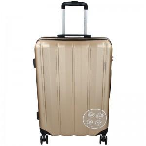 Cestovný kufor Marina Galanti Nova L - zlatá