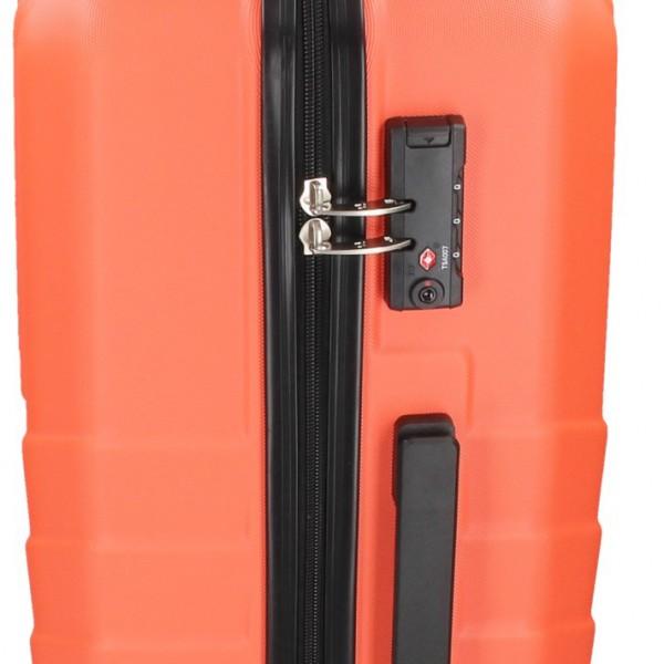 Cestovný kufor Marina Galant Reno M - lososová
