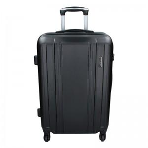 Sada 3 cestovných kufrov Madisson Rollma S, M, L - čierná