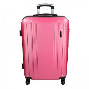 Sada 3 cestovných kufrov Madisson Rollma S, M, L - ružová
