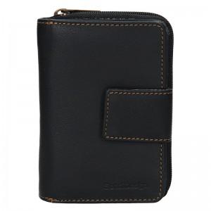 Dámska kožená peňaženka SendiDesign Mona - čierna