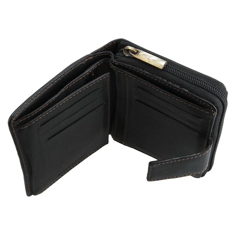 4cbd84ea06 Dámska kožená peňaženka SendiDesign Mona - čierna