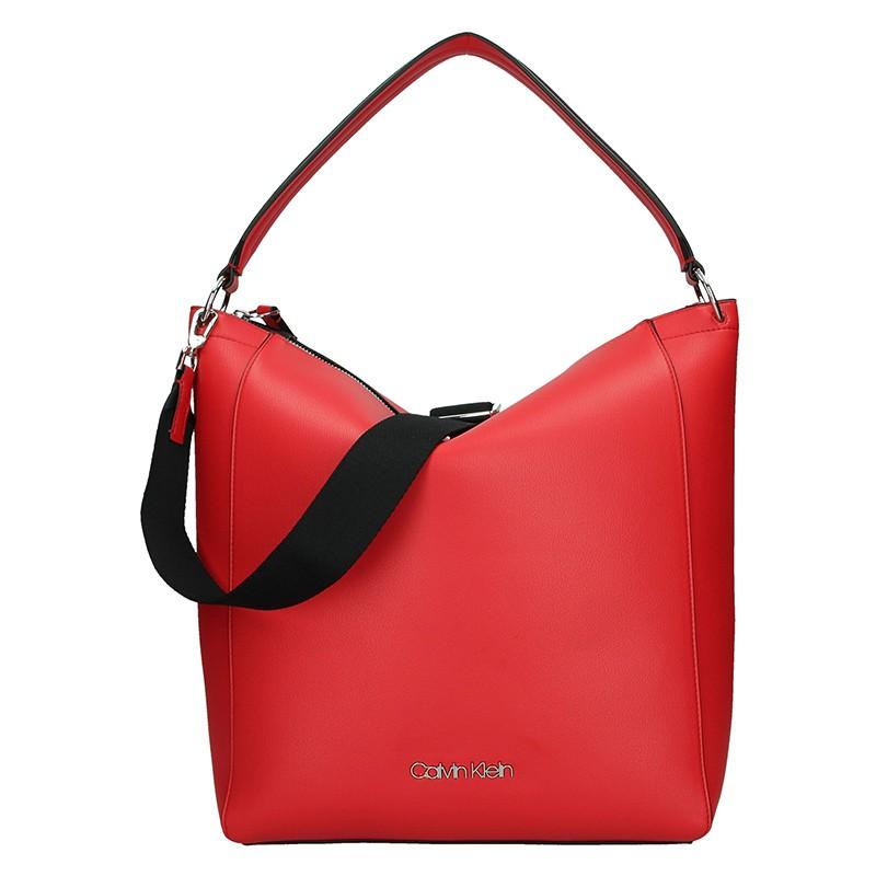 Dámska kabelka Calvin Klein Silva - červená