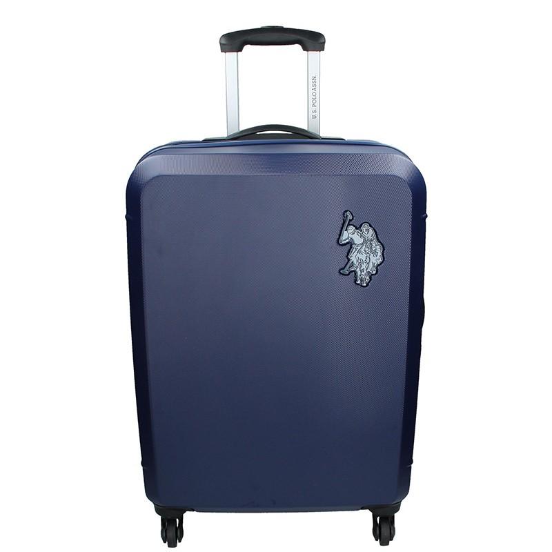 Cestovný kufor U.S. POLO ASSN PALMS L - modrá 102l