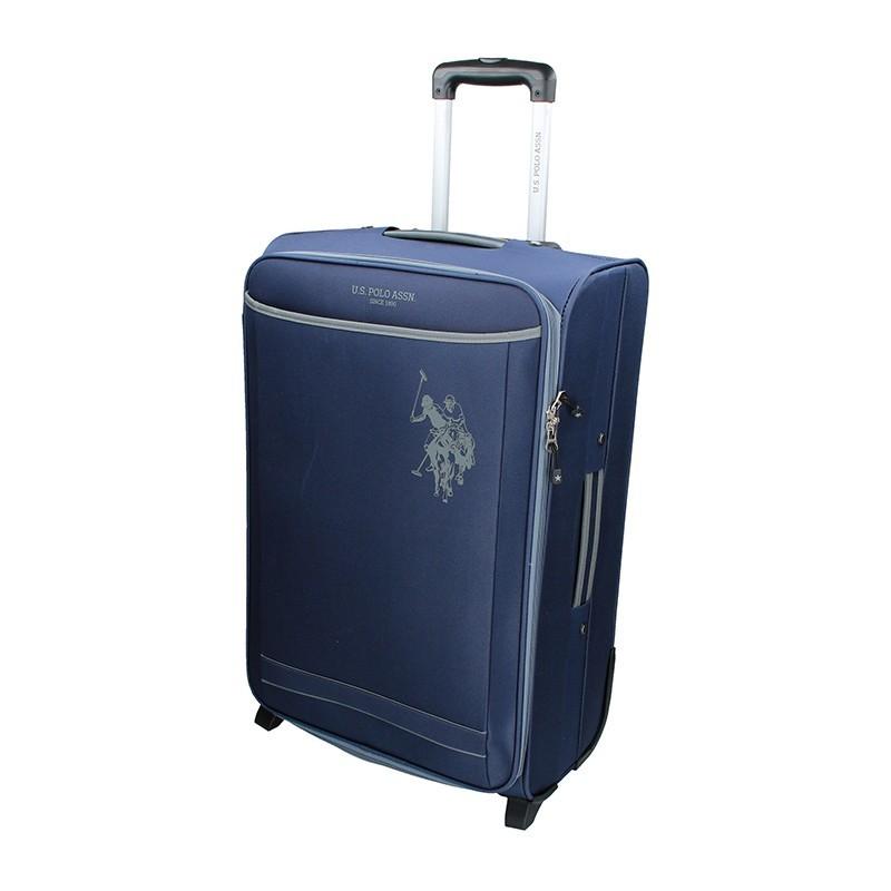 Kabínový cestovný kufor U.S. POLO ASSN. Mauris L - modrá