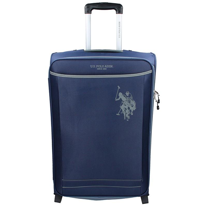 Kabínový cestovný kufor U.S. POLO ASSN. Mauris L - modrá 95l