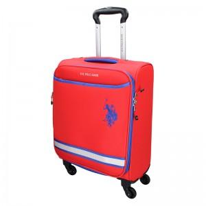 Kabinový cestovní kufr U.S. POLO ASSN Boston - červená