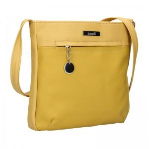 Dámska crossbody kabelka SendiDesign Matilde - žltá