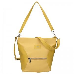 Dámska crossbody kabelka SendiDesign Laura - žltá
