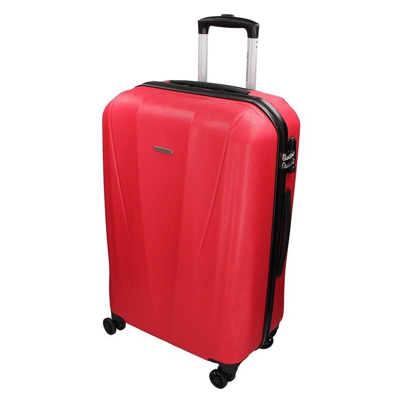 Cestovný kufor Marina Galanti Fuerta M - červená