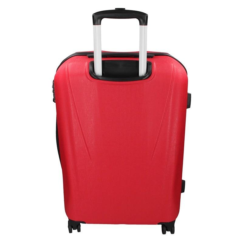 Cestovný kufor Marina Galanti Fuerta L - červená