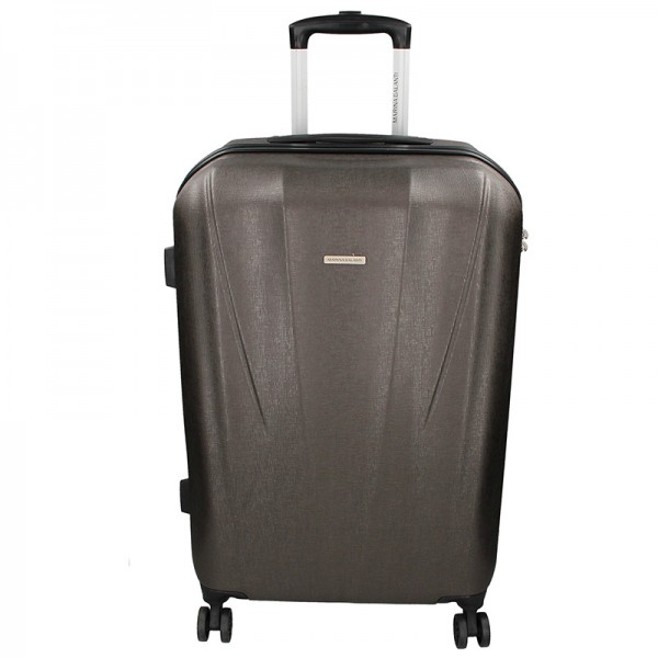 Cestovný kufor Marina Galant Fuerta L - tmavo šedá