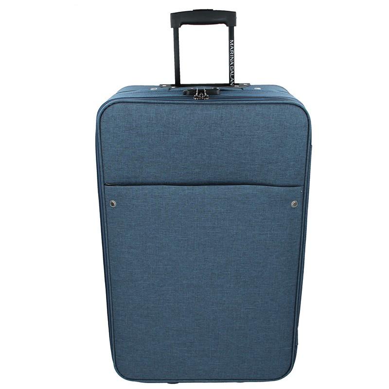 Cestovný kufor Marina Galant Koss M - modrá 72l