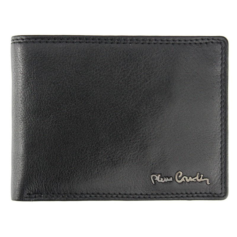 744d8de15a Pánska kožená peňaženka Pierre Cardin Nicolas - čierna