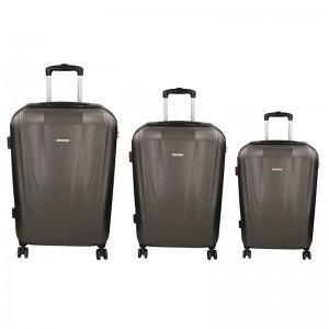 Sada 3 cestovných kufrov Marina Galanti Fuerta S, M, L - modrá