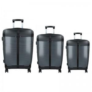 Sada 3 cestovných kufrov Snowball Endrs S, M, L - čierná