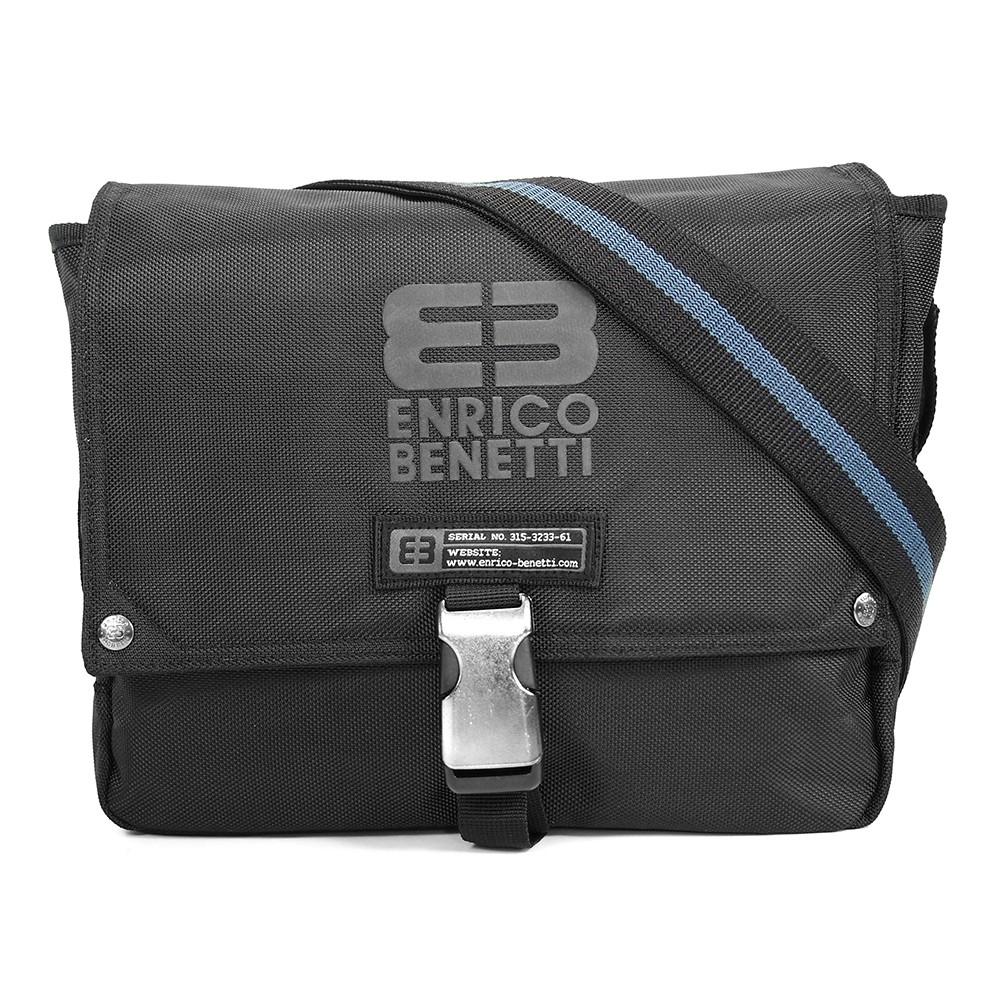 Pánska taška cez ramno Enrico Benetti Gerett - čierna