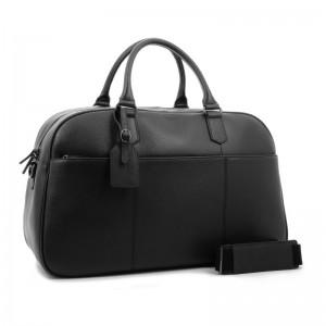 Elegantná cestovná taška Hexagona Ceasar - čierno-šedá