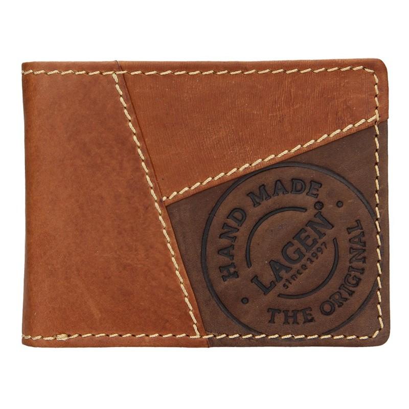Pánska kožená peňaženka Lagen Baltazar - hnedá