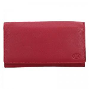 Dámska kožená peňaženka DD Anekta Marketa - červená