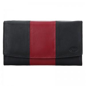 Dámska kožená peňaženka DD Anekta Marketa - zelená