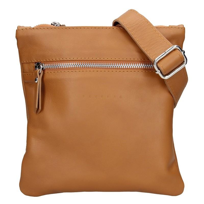 Pánska taška cez rameno Facebag Arnold - hnedá