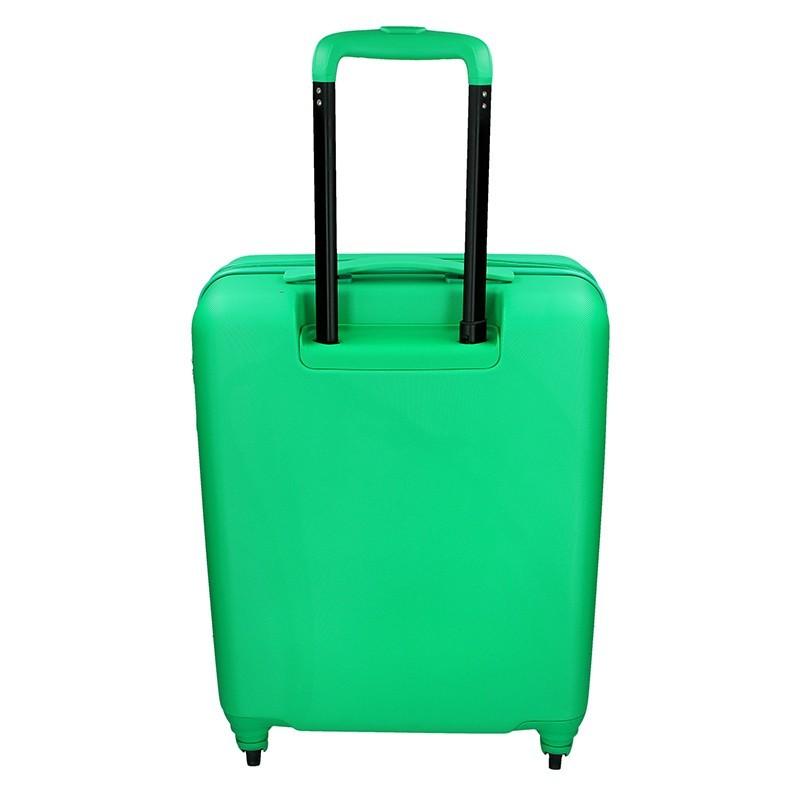Kabínový cestovný kufor United Colors of Benetton Aura - zelená