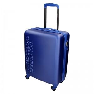 Kabínový cestovný kufor United Colors of Benetton Aura - modrá