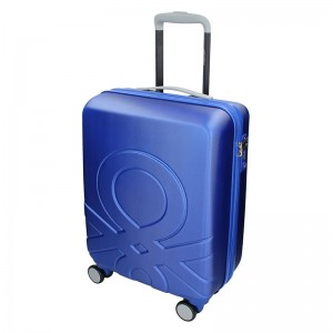 Kabínový cestovný kufor United Colors of Benetton Timis - modrá