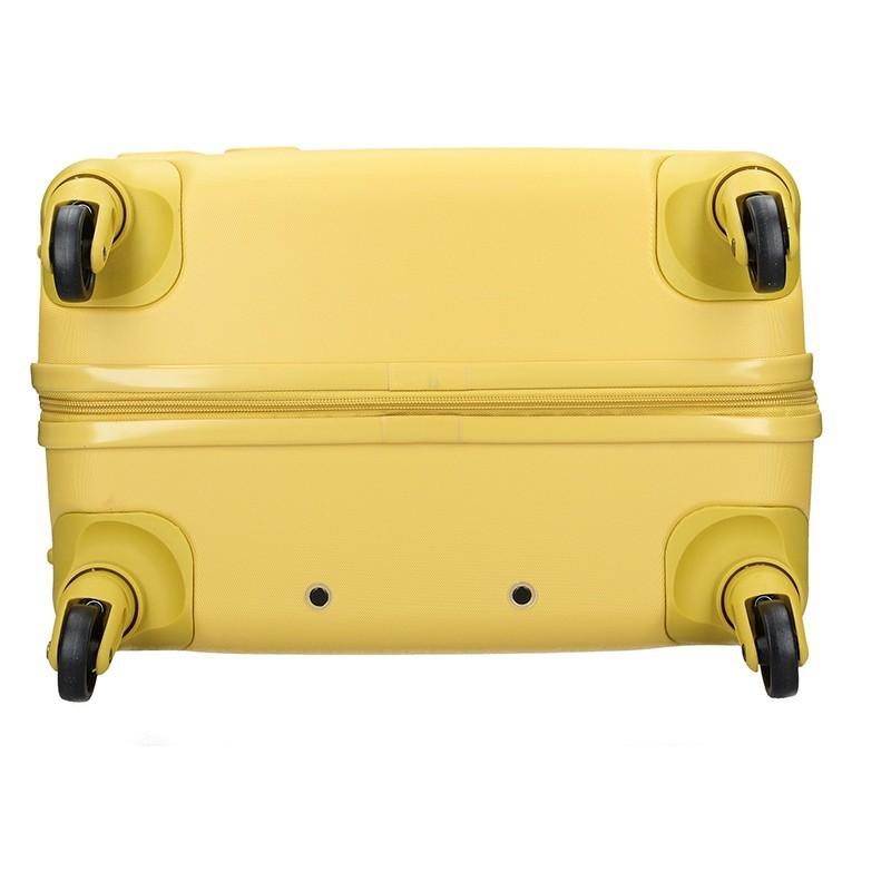 Cestovný kufor United Colors of Benetton Aura M - žltá