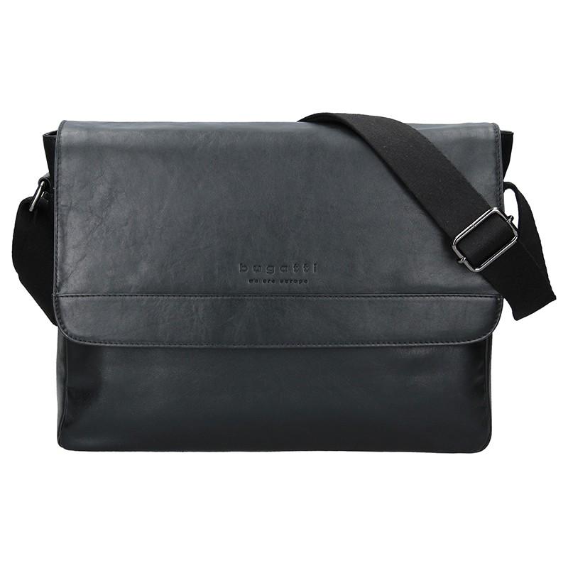 Pánska taška cez rameno Bugatti Artur - čierna