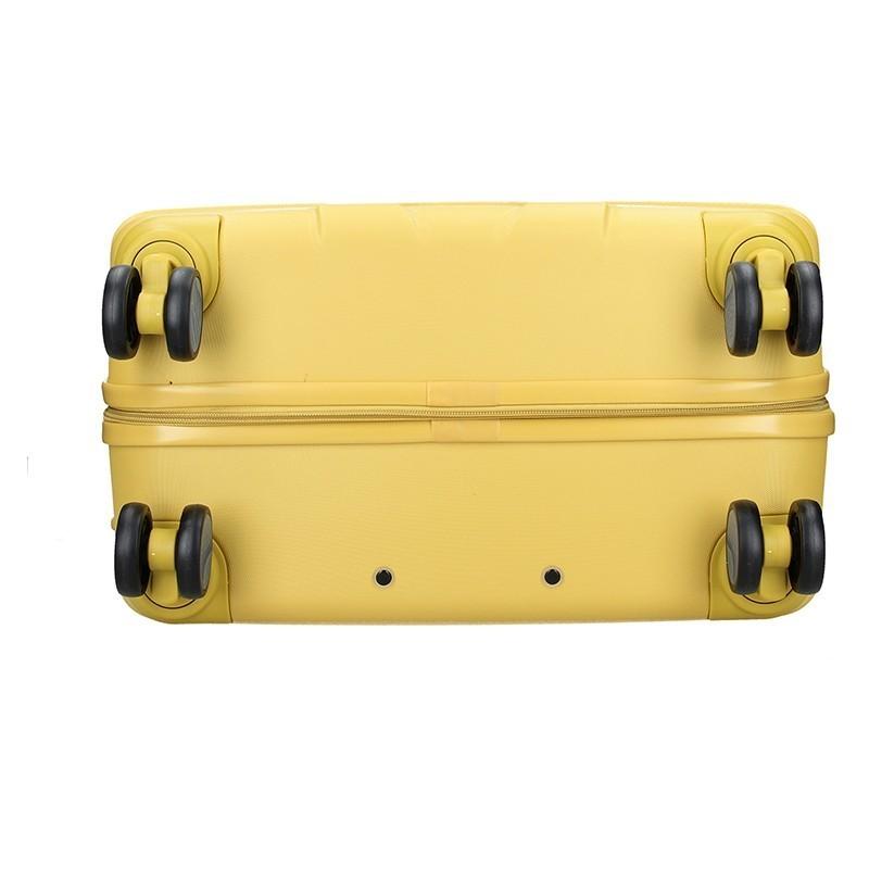 Sada 3 cestovných kufrov United Colors of Benetton Kanes S,M,L - čierna