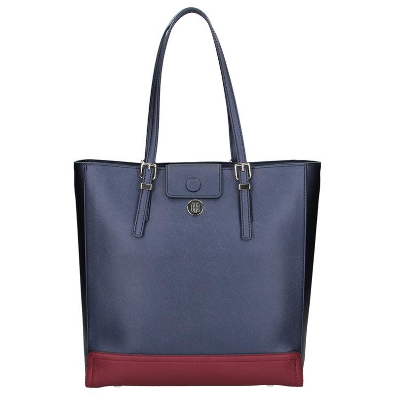 Dámska kabelka Tommy Hilfiger Beáta - modro-červená