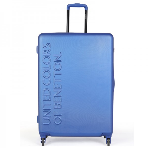 Cestovný kufor United Colors of Benetton Timis L - modrá
