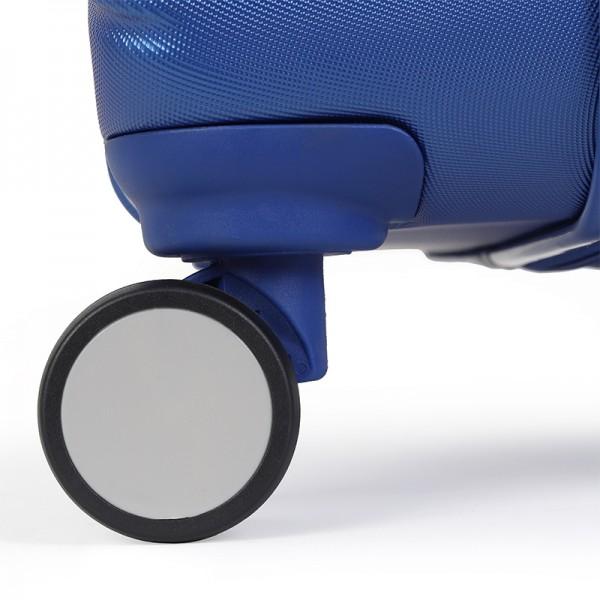 Cestovný kufor United Colors of Benetton Kanes L - modrá