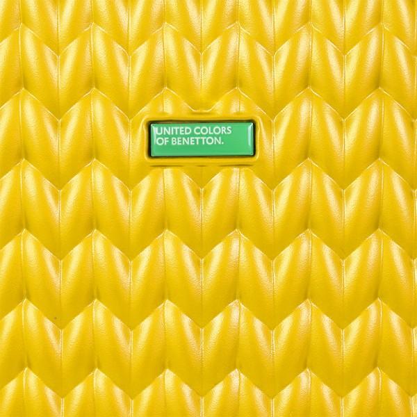 Cestovný kufor United Colors of Benetton Rider M - žltá