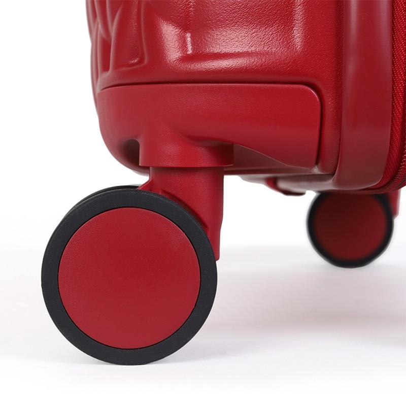 Kabínový cestovný kufor United Colors of Benetton Rider S - vínová
