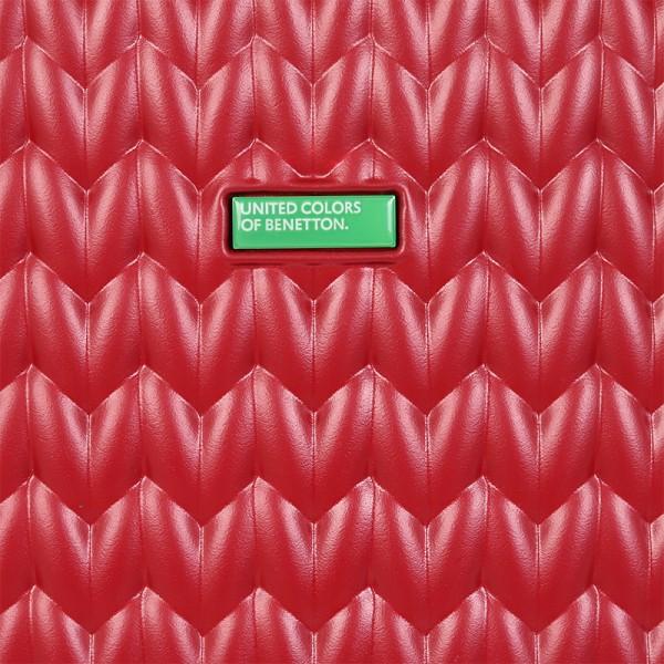 Cestovný kufor United Colors of Benetton Rider M - vínová