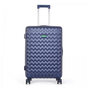 Kabínový cestovný kufor United Colors of Benetton Rider S - modrá