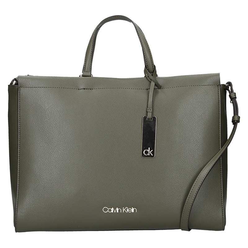 Dámska kabelka Calvin Klein Ritta - olivová
