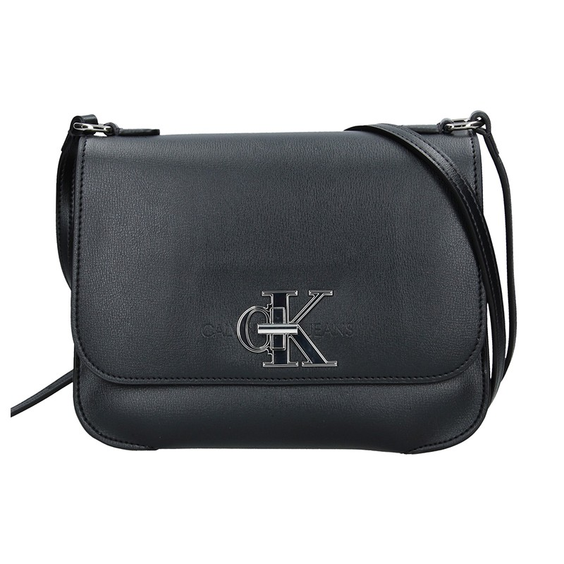 Dámska crossbody kabelka Calvin Klein Eleika - čierna