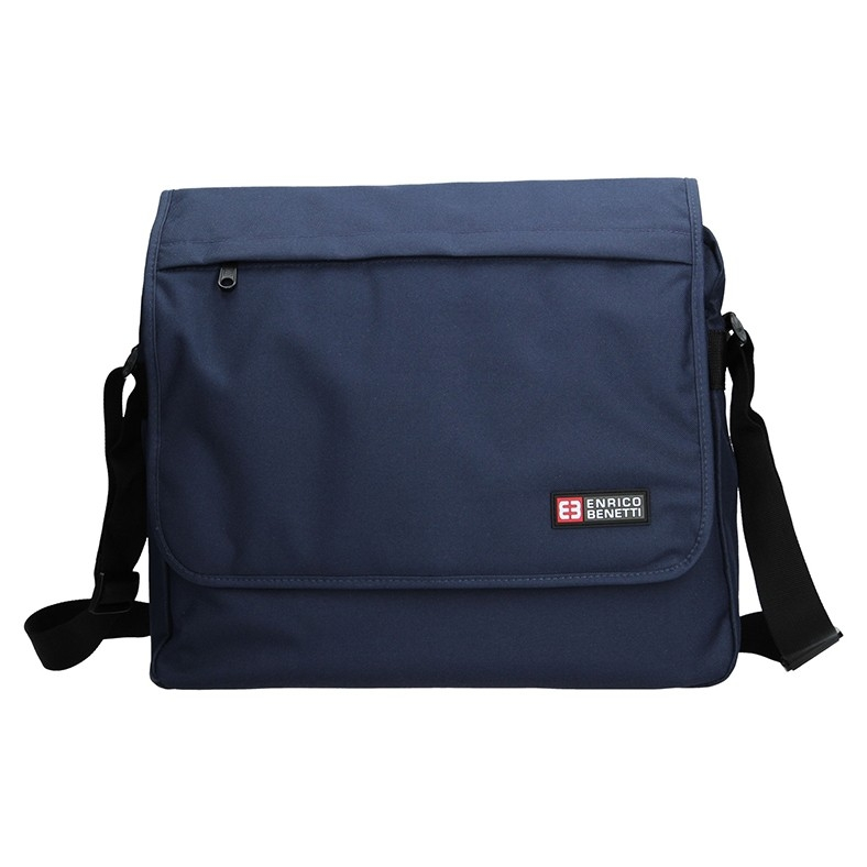 Pánska taška cez rameno Enrico Benetti Rudolf - modrá