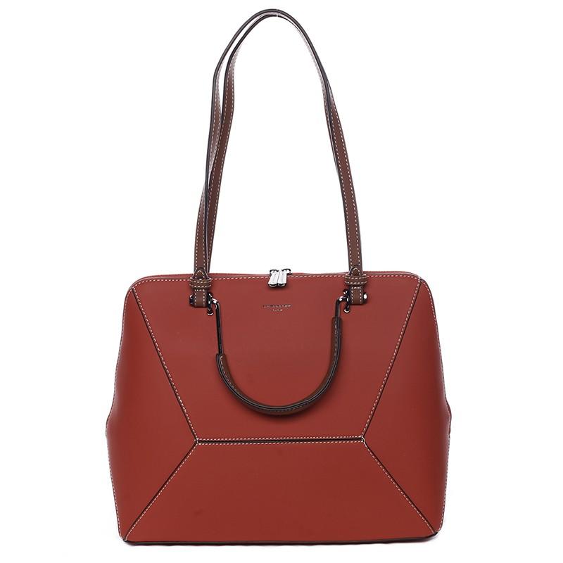 Dámska kabelka David Jones Aurelie - červená