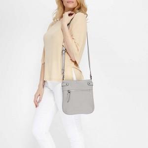 Dámska crossbody kabelka Fiorelli Amy - šedá