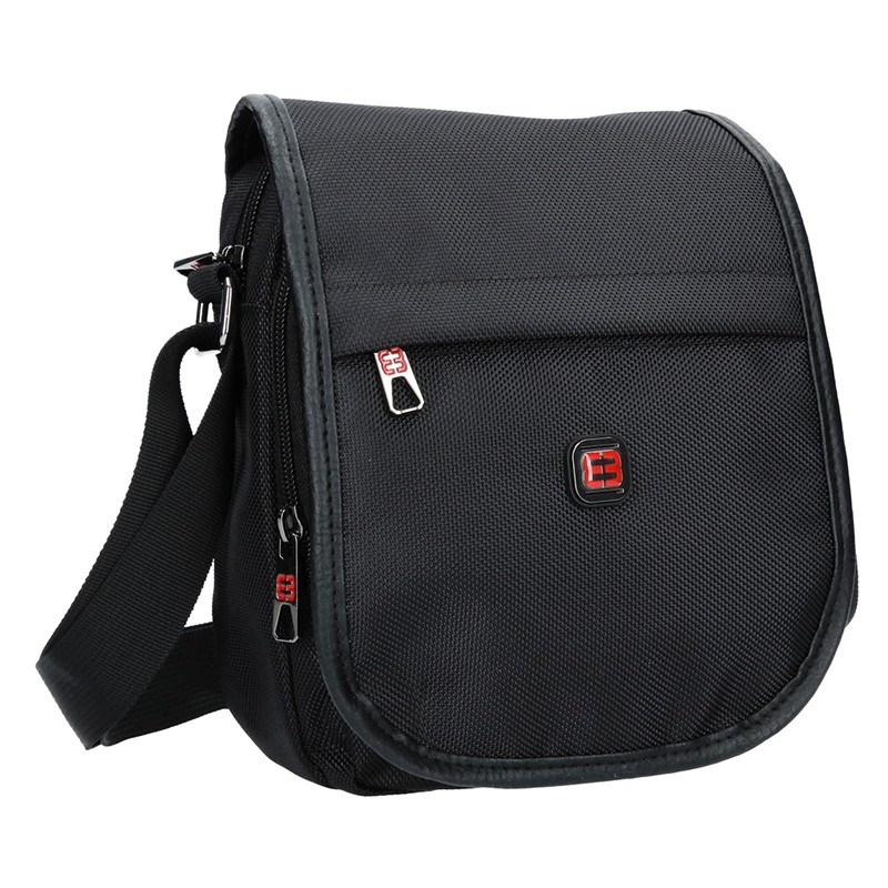 Pánska taška na doklady Enrico Benetti Dante - čierna