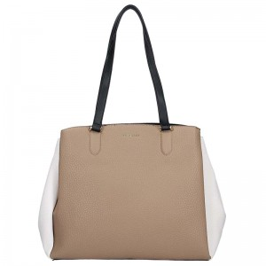 Dámska kabelka Fiorelli Jade - bielo-hnedá