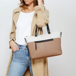 Dámska kabelka Fiorelli Olivia - hnedo-čierno-biela