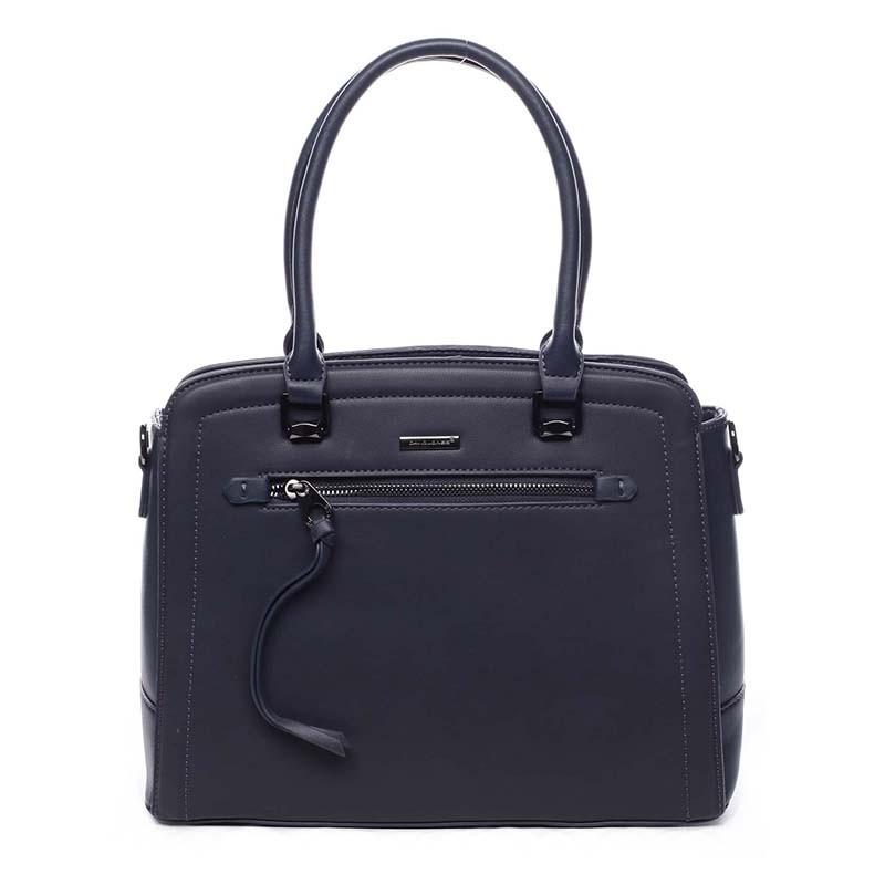 Dámska kabelka David Jones Isabelle - modrá