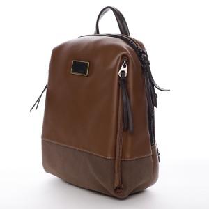 Dámský batoh David Jones Violette - koňak