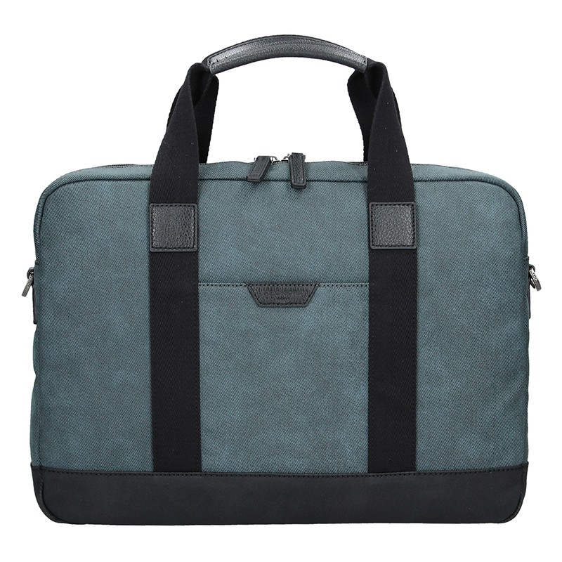 Pánska taška cez rameno Hexagon Dyton - modrá